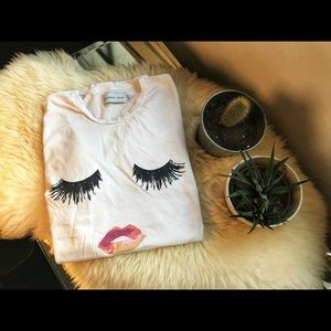 Sincerely Jules Eye and Lips Tee